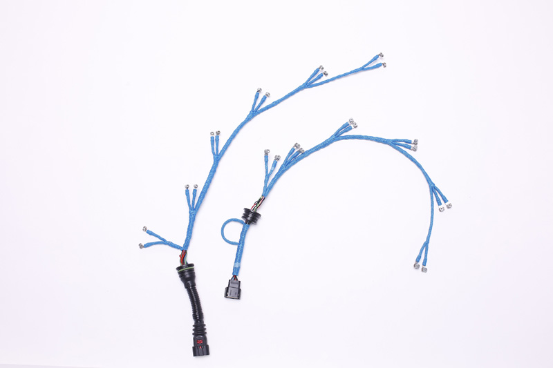 Internal wire of engine cylinder Wire harness
